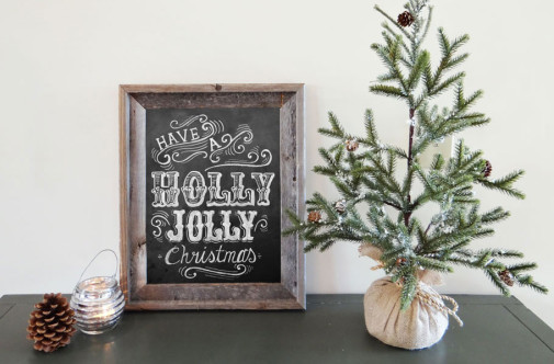 Framing Tips for Lily & Val Chalkboard Art Prints