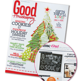 Lily & Val Featured in December 2013 Good Housekeeping Magazine