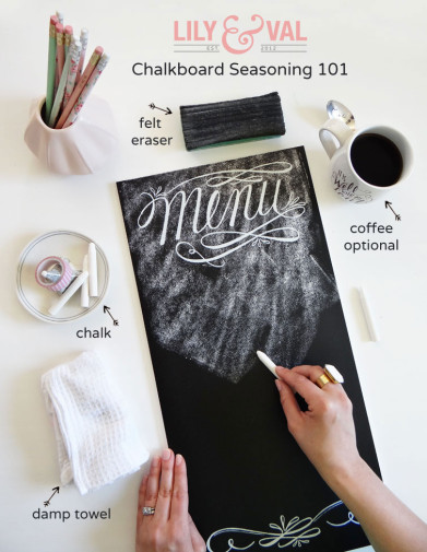 Chalkboard Seasoning 101