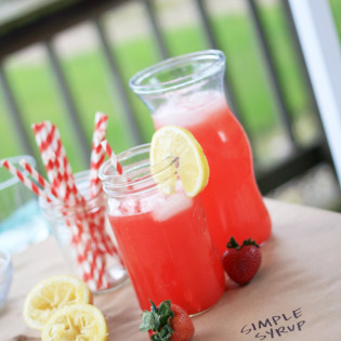 In The Kitchen: Strawberry Lemonade Recipe