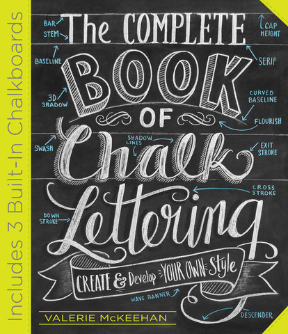 Coming Soon – The Complete Book of Chalk Lettering