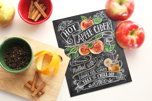 In the Kitchen – Mulled Apple Cider