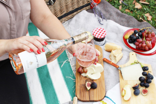 Art of the Picnic – Wine & Cheese