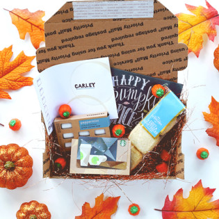 L&V Happy Mail Idea – Pumpkin Spice Season