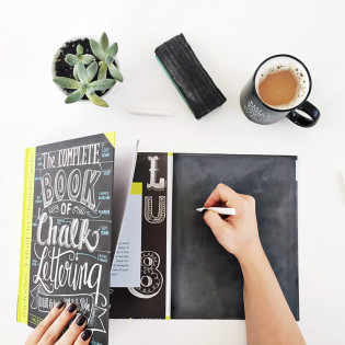The Complete Book Of Chalk Lettering – Now Available