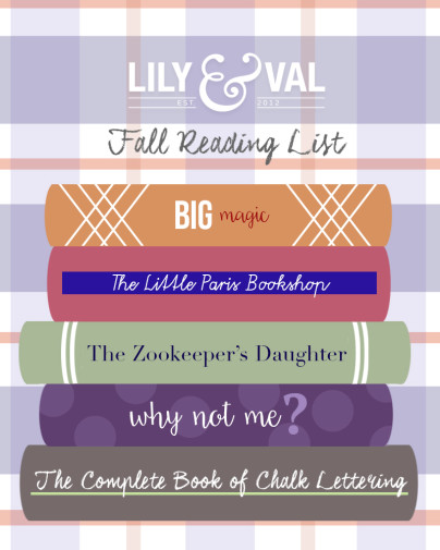 L&V Fall Reading List