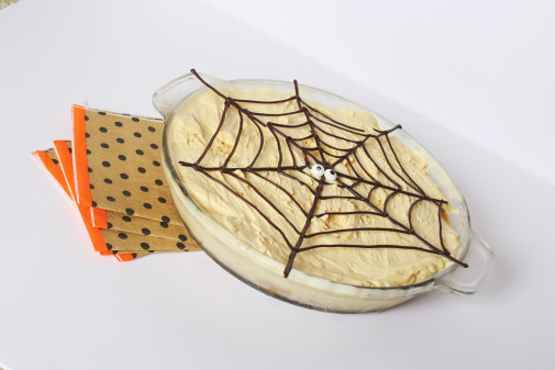 In The Kitchen: Spooky Pumpkin Ice Cream Pie