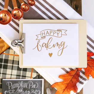 L&V Happy Mail Idea – Thanksgiving Baking