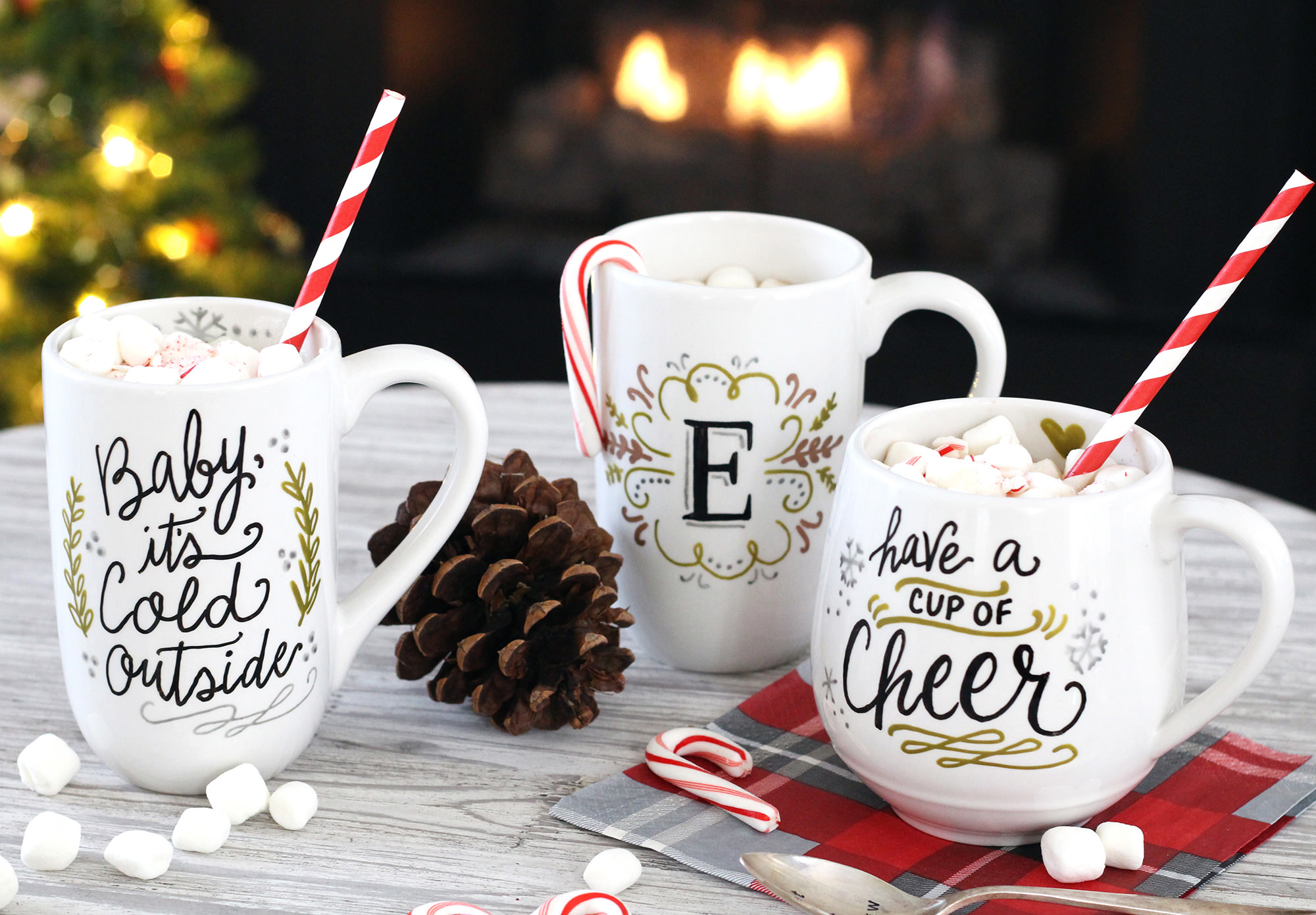 DIY Mug Gifts Using PaintedByMe Bake At Home Ceramics - Lily & Val ...