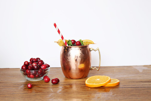 In the Kitchen: Moscow Mule With a Holiday Twist