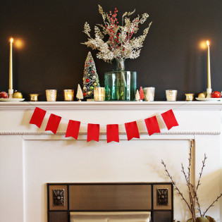 Holiday Mantel Styling Tips From The Virginia Lynn Co. Part 2