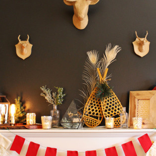 Holiday Mantel Styling Tips From The Virginia Lynn Co. Part 3