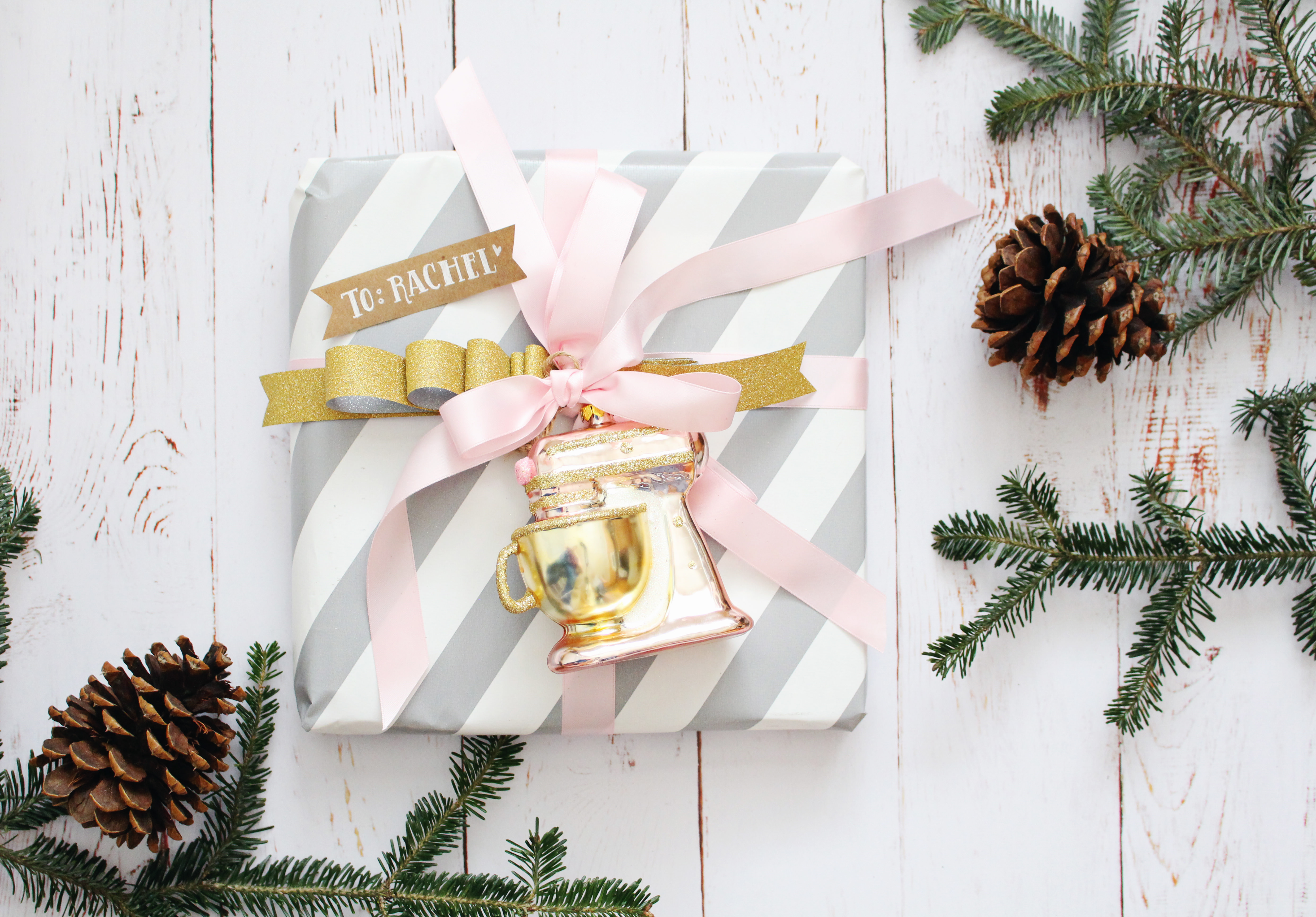 We absolutely love this Kitchenaid ornament from Brit + Co
