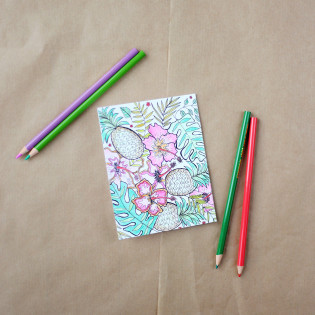 L&V Adult Coloring Notes Inspiration