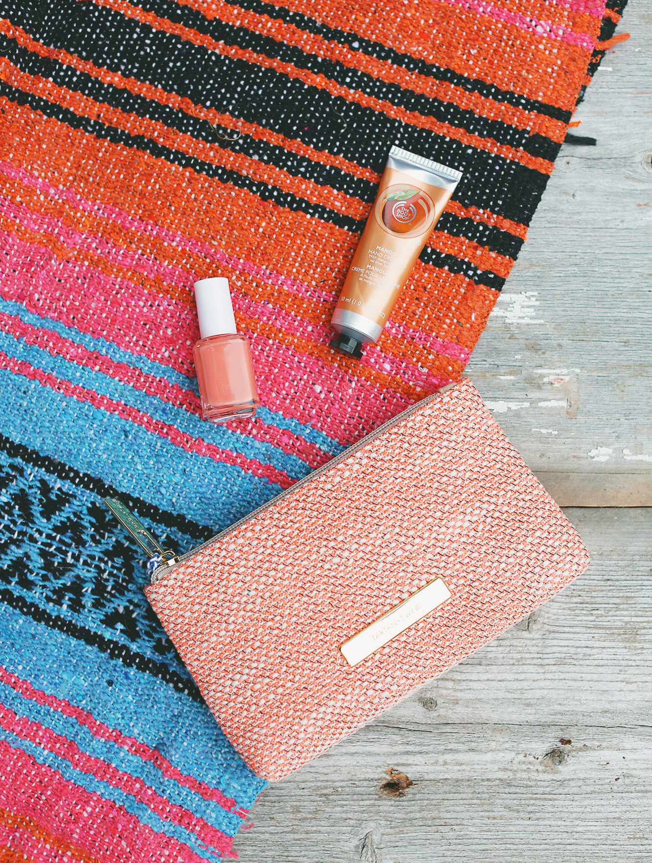A bright makeup case and fun colored polish make Spring feel right around the corner. Win these treats on Lily & Val Living!