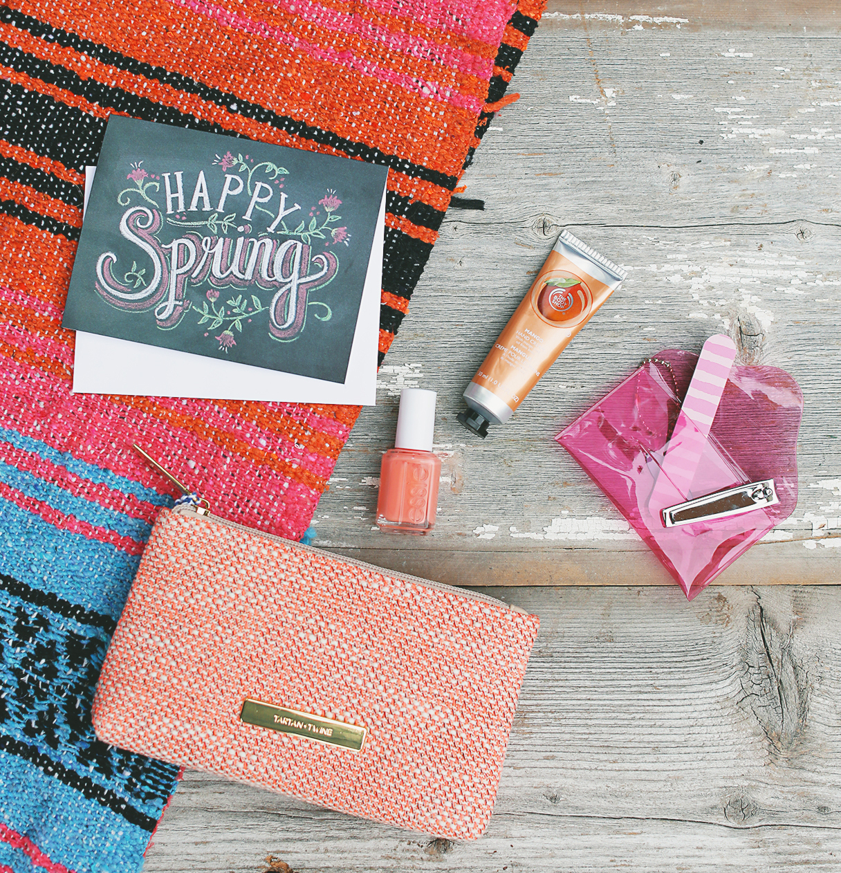 Win a makeup bag full of pampering treats for Spring on Lily & Val Living!