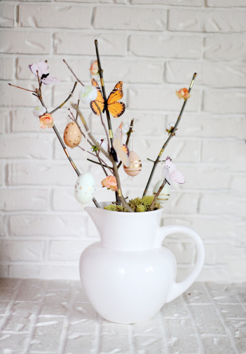 Modern Easter Tree – DIY
