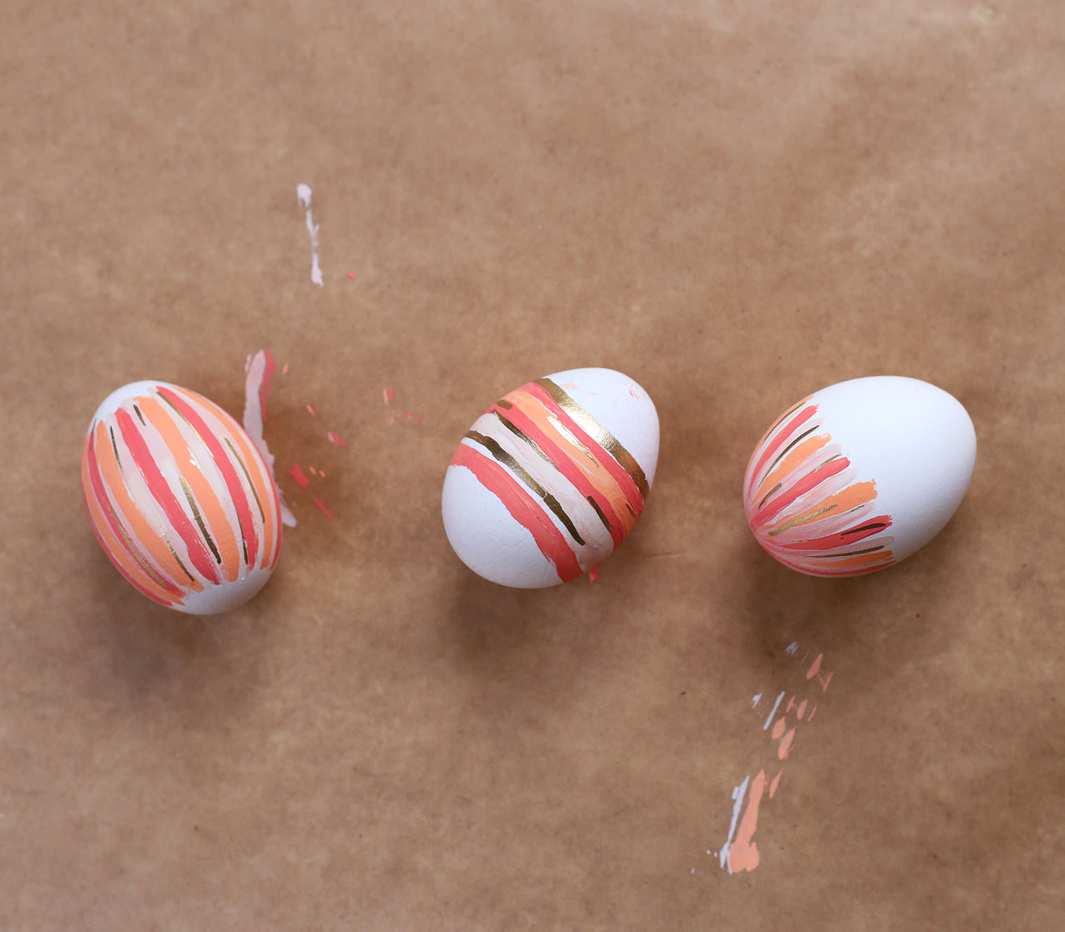 Dye free DIY Easter Eggs are the way to go! Color eggs with just a few simple steps!
