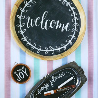 DIY: Thrift Store Finds Upcycled Into Unique Chalkboards