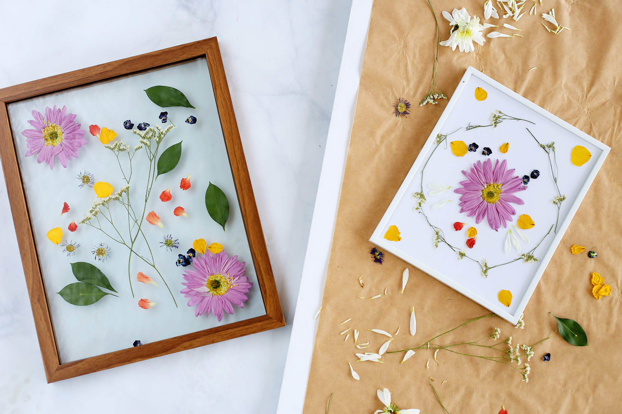 What better way to celebrate Earth Day than using some of Mother Nature's prettiest petals?! We can't get enough! Visit Lily & Val Living for more details!