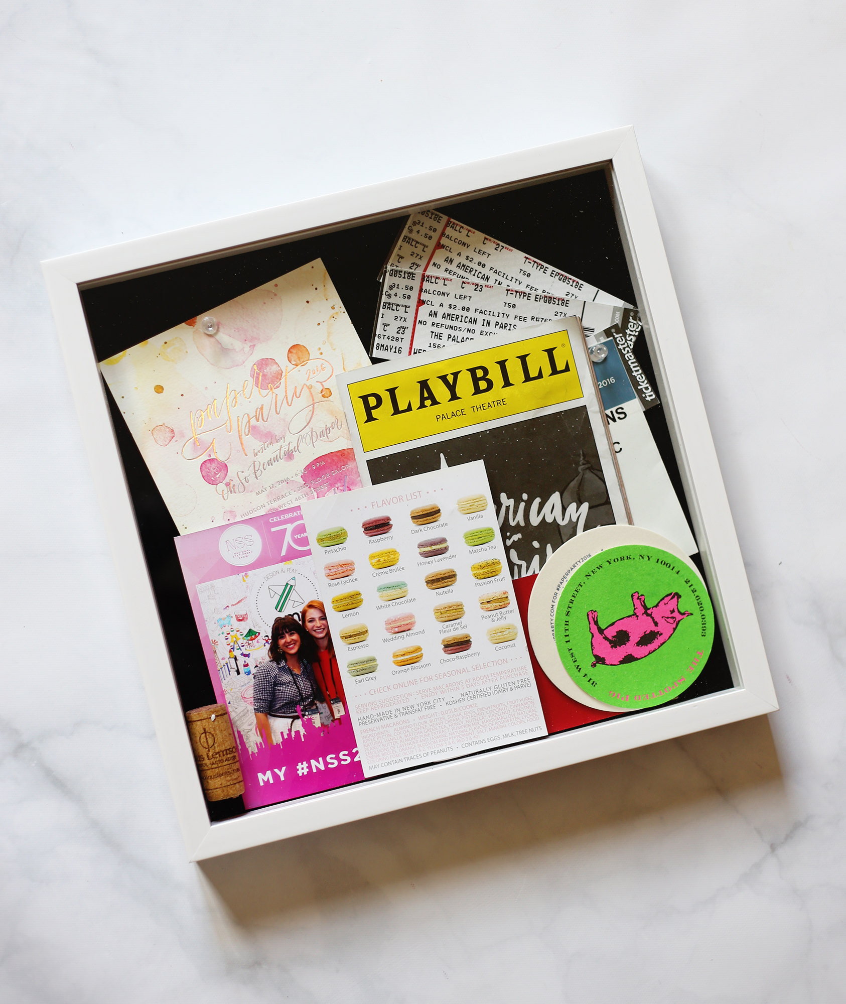 Collect memories from your trip and combine it all into a memory box!  Make your own DIY Travel Box and get the instructions on Lily & Val Living!