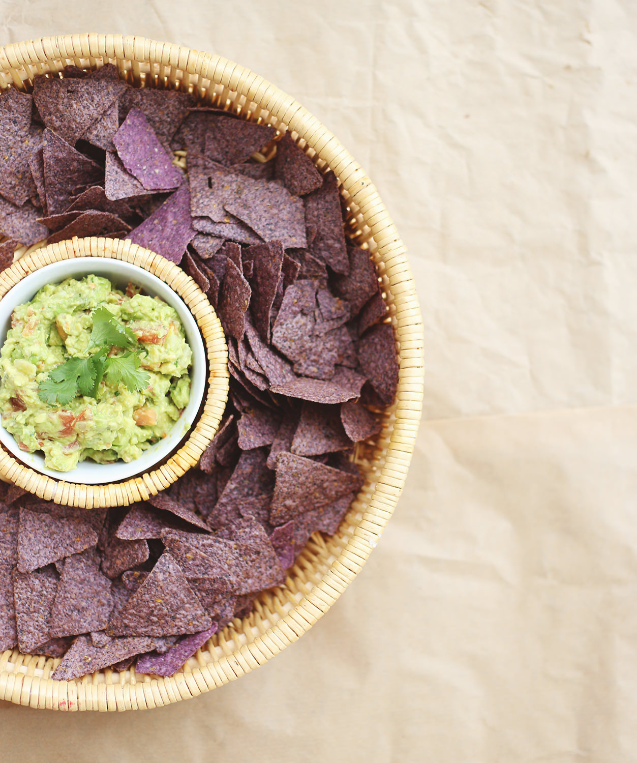 Try our perfect guacamole recipe from our 2016 Recipe Calendar! To kick things up a notch, see our three ways to make your guacamole extra delicious!