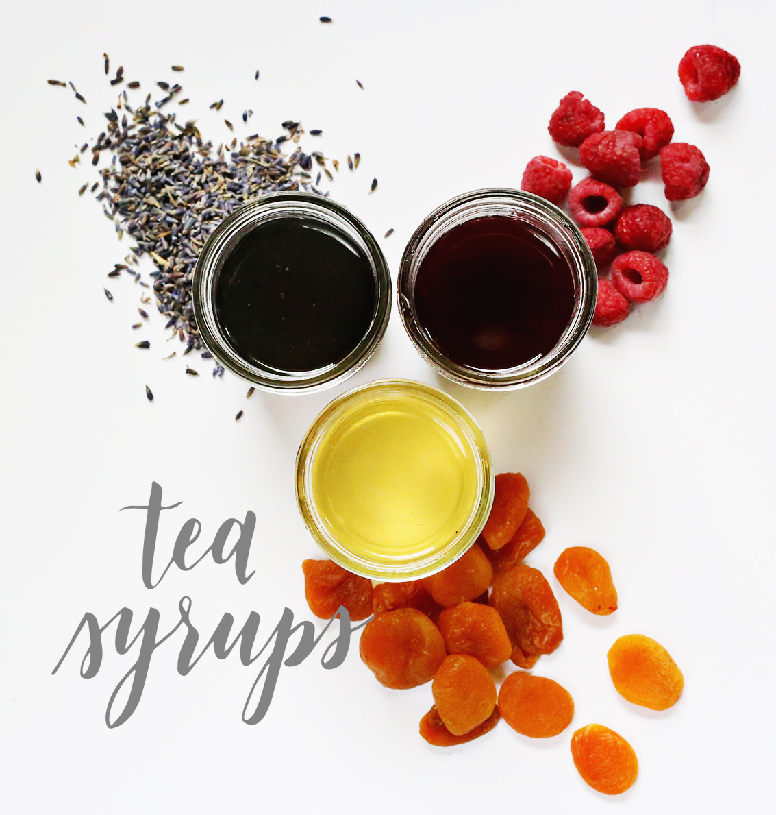 Three new syrups to add flavor to your iced tea via Lily & Val Living
