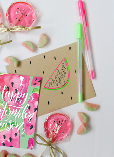 July Happy Mail Idea – Watermelon Season