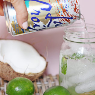 La Croix Mocktail Recipe: Coconut Lime