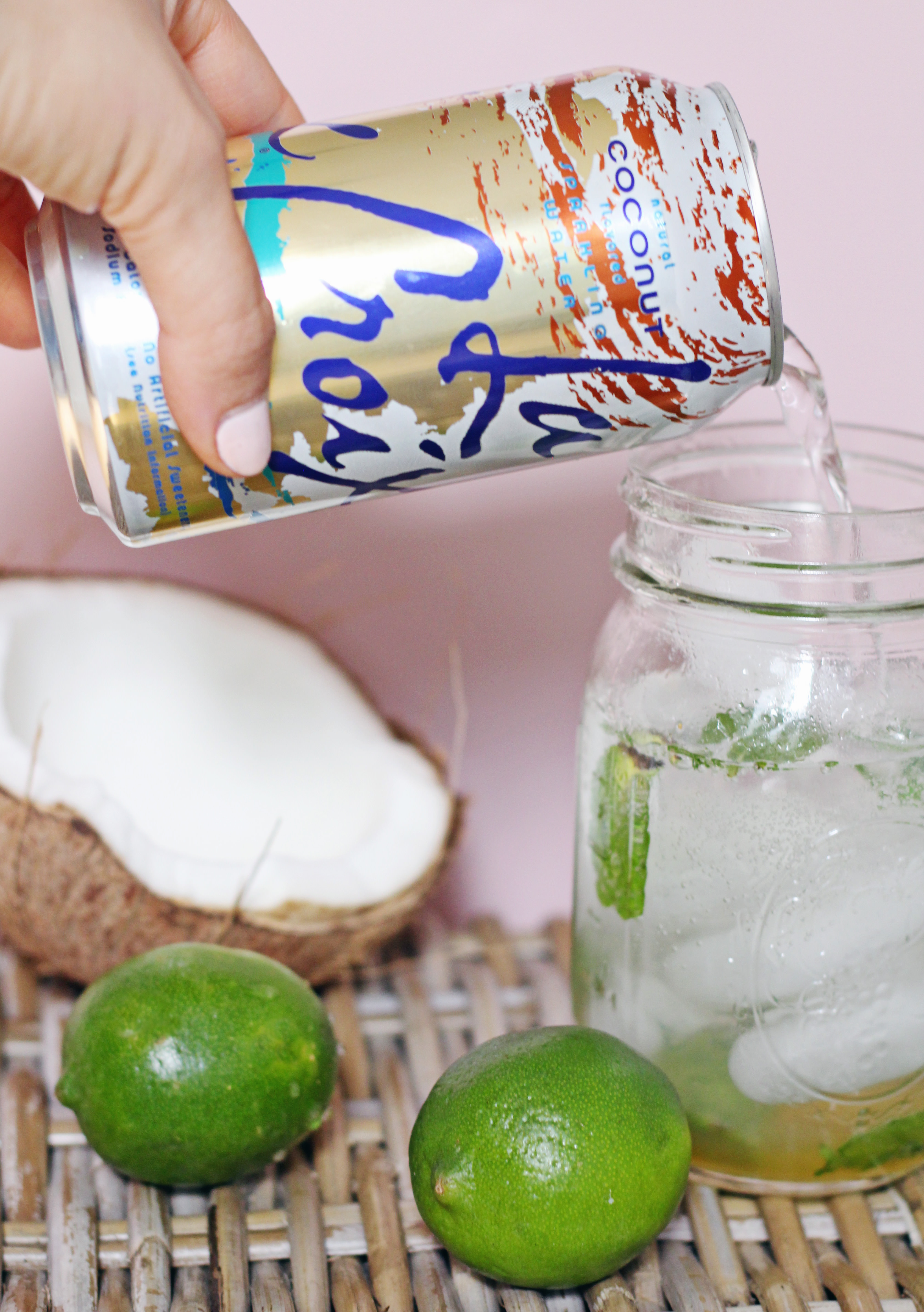 La Croix Sparking Water makes the best mocktail and cocktail mixer