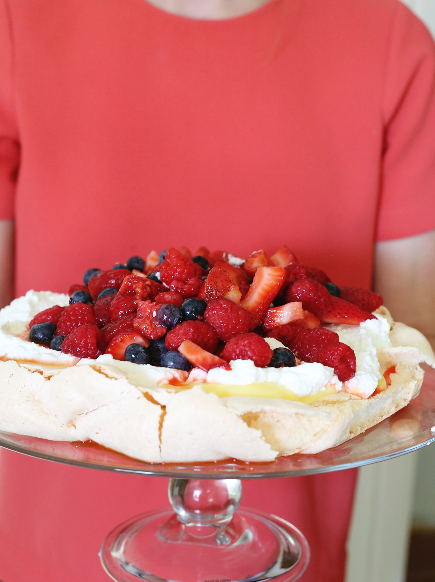 Ina Garten's delicious summer pavlova recipe brought to life via Lily & Val Living