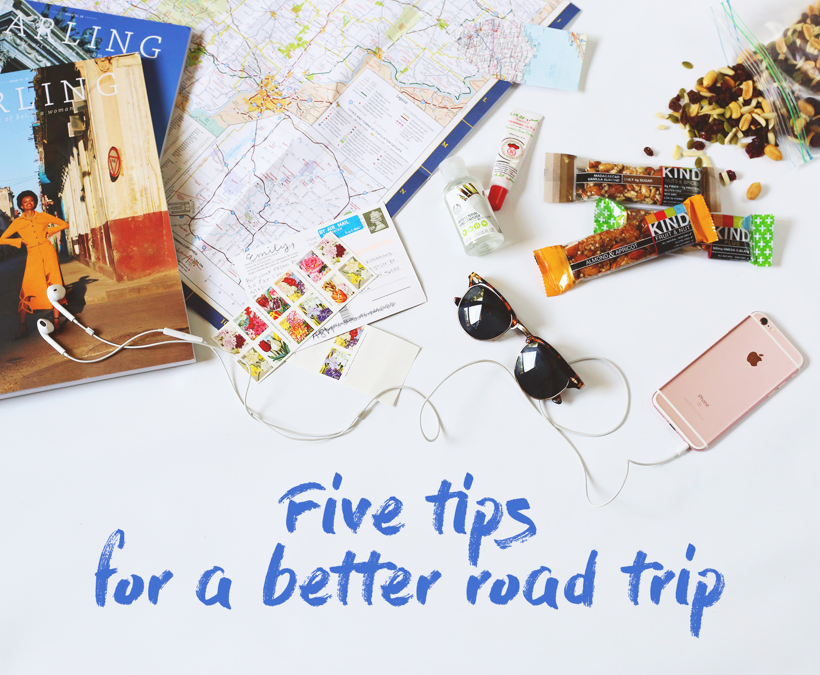 Follow these five tips to make your car ride more easy and enjoyable! via Lily & Val Living