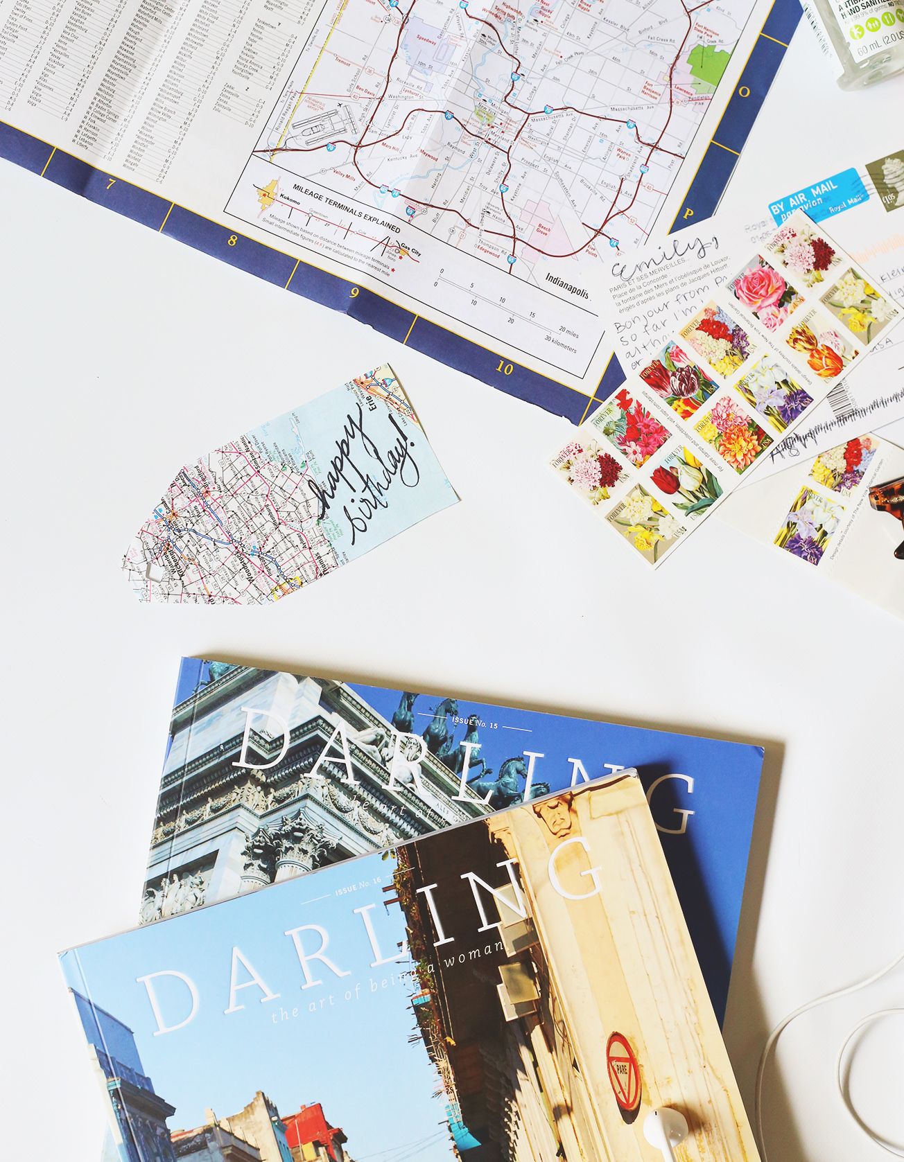On your next road trip, pick up maps at a rest stop and use them to create gift tags or wrap gifts when you return!