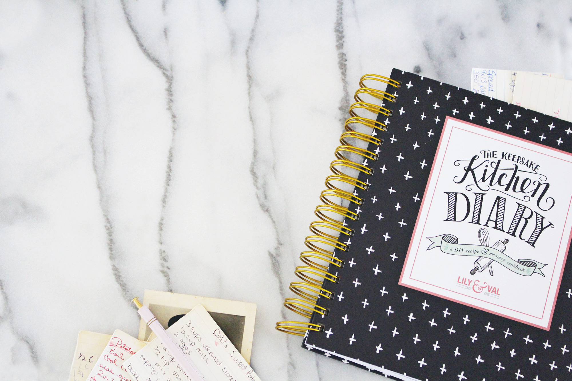 The Keepsake Kitchen Diary gets filled with special family recipes and memories. We're sharing stories from our customers and their KKDs on the blog!
