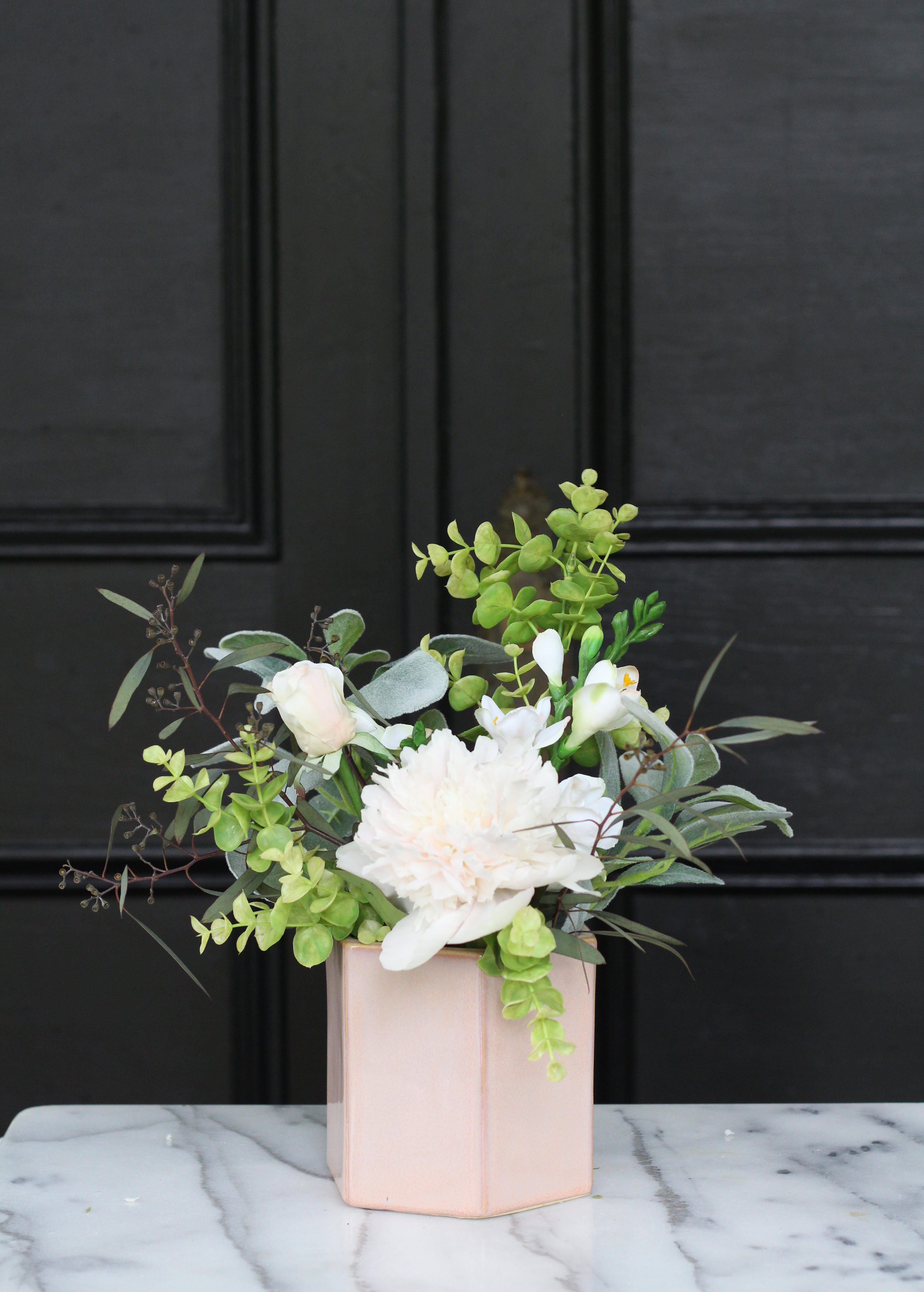 Faux Real Floral Design series on Lily & Val Living. Combine fresh and faux blooms to create beautiful flower arrangements