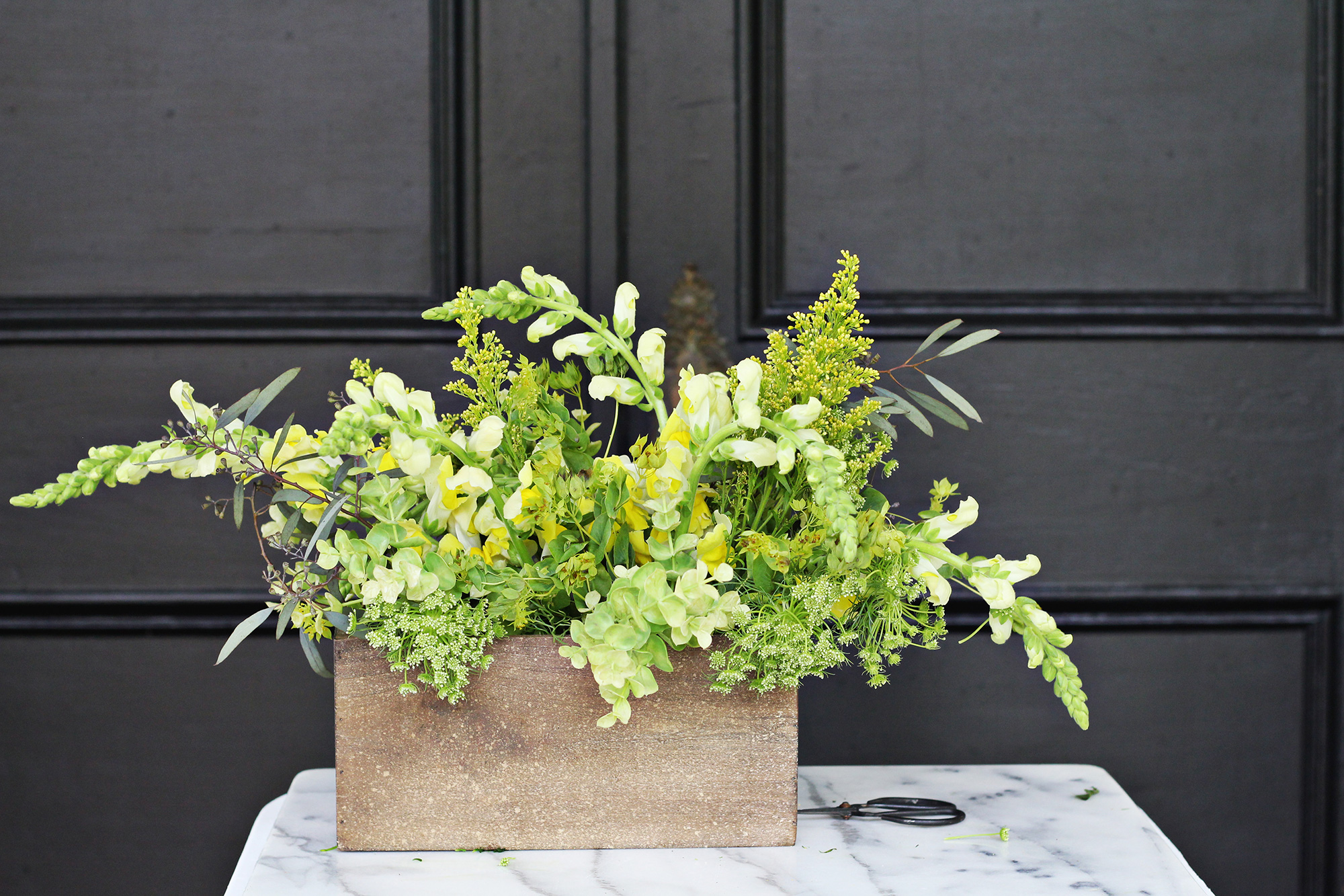 Faux Real Floral Design on Lily & Val Living - Learn how to create beautiful floral arrangements