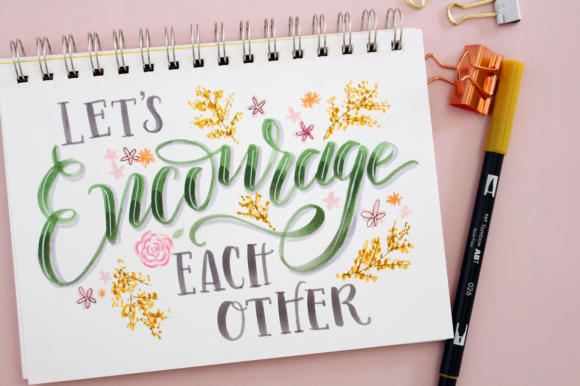 Encouragement is one of our core values at Lily & Val so we are sharing 5 simple ways to be an encouragement to those around you on Lily & Val Living
