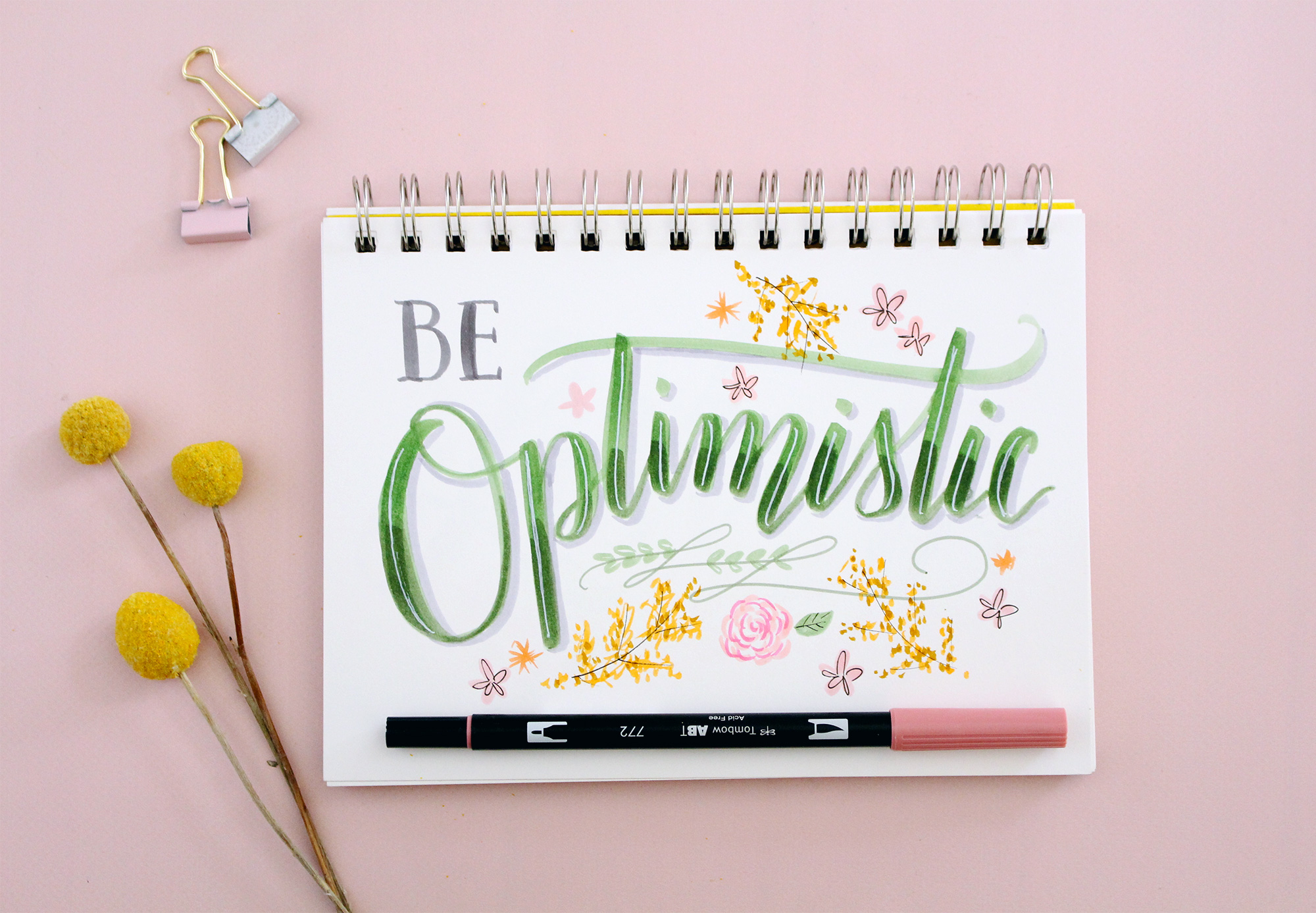 Being optimistic is one of the best ways you can be an encouragement to those around you