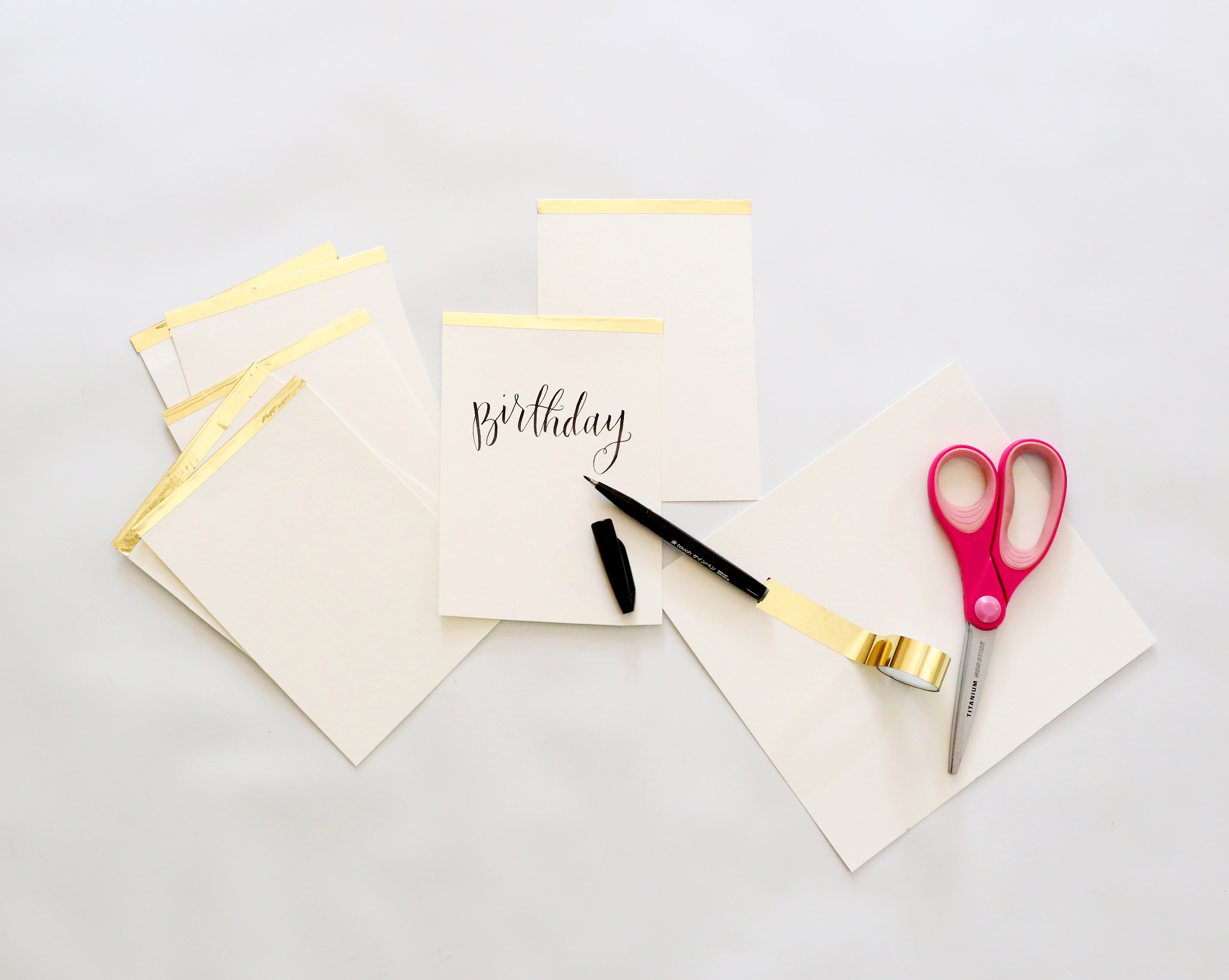 Card dividers for your note card organizer via Lily & Val Living