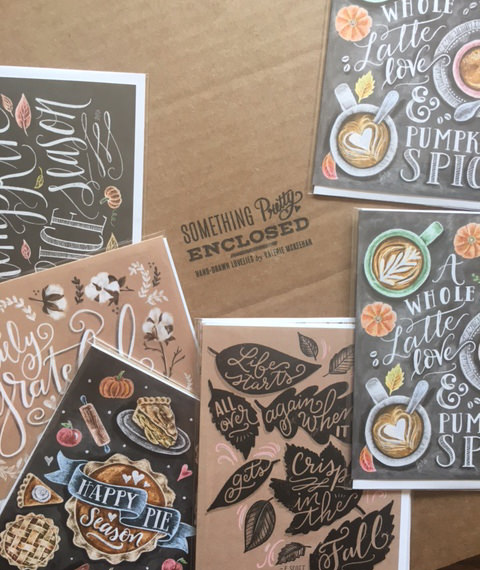 A peek into the Fall card collection! // Lily & Val Living