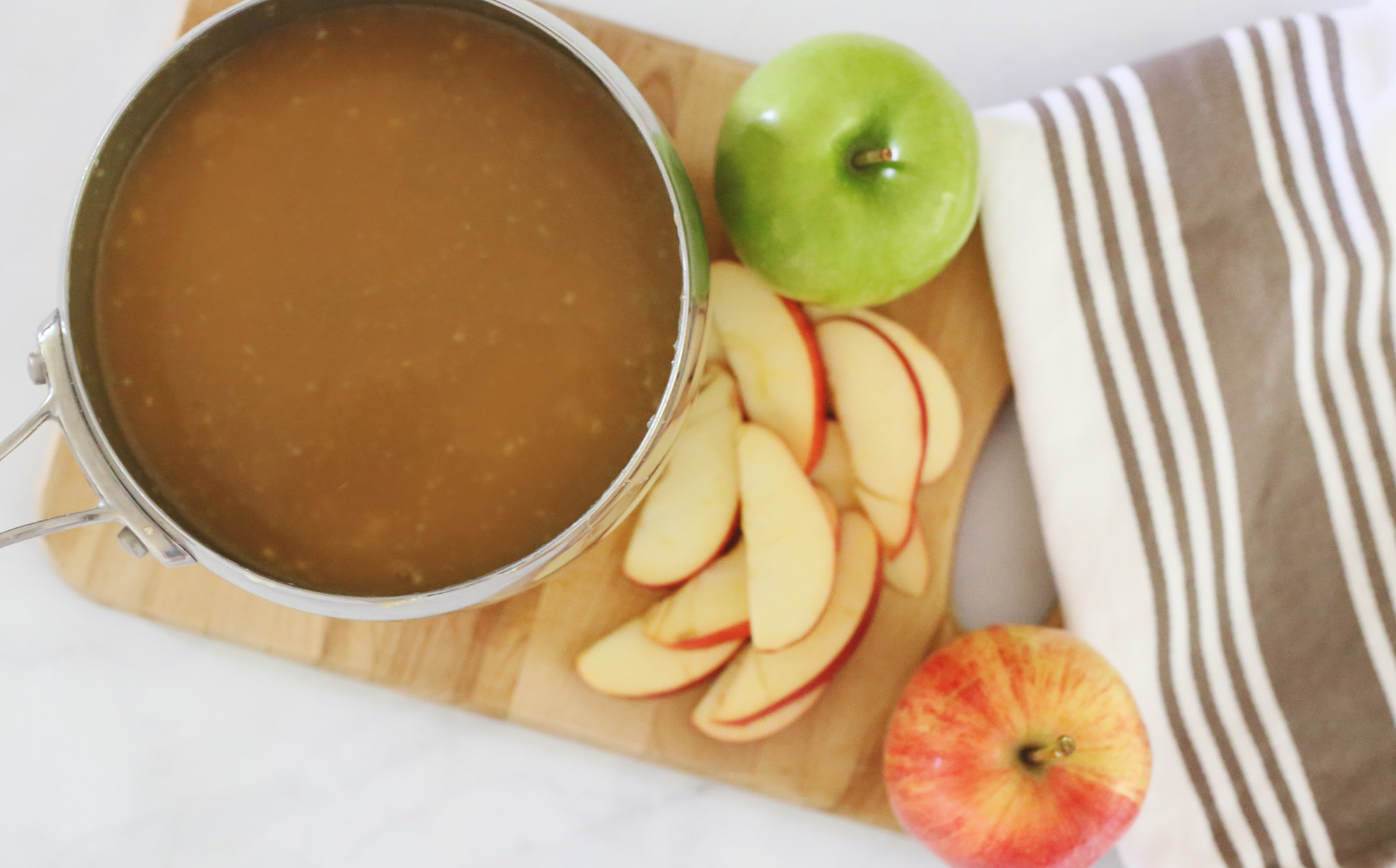 Perfect Caramel dip for apples! Lily & Val Living