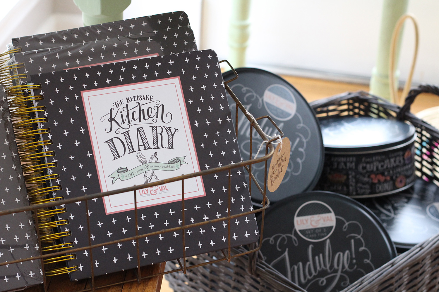 The Keepsake Kitchen Diary is a perfect gift for a bridal shower or housewarming