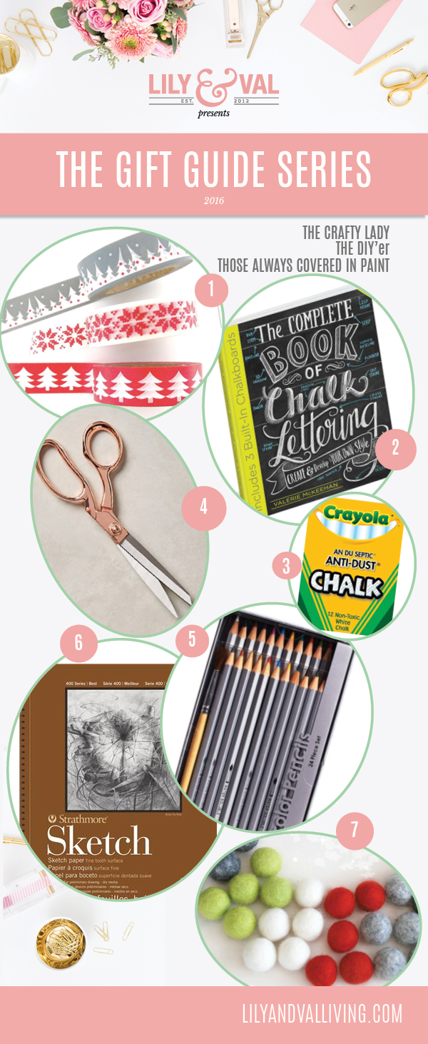 Gift guide for Crafters of all ages!