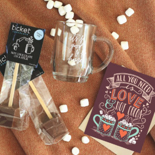 November Happy Mail Idea – Love & Hot Cocoa