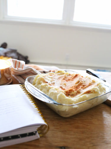 In the Kitchen: Grandma's Mashed Potatoes