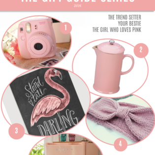 Perfect in Pink Gift Guide 2016