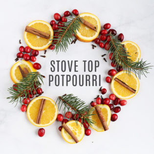 Holiday Stove Top Potpourri