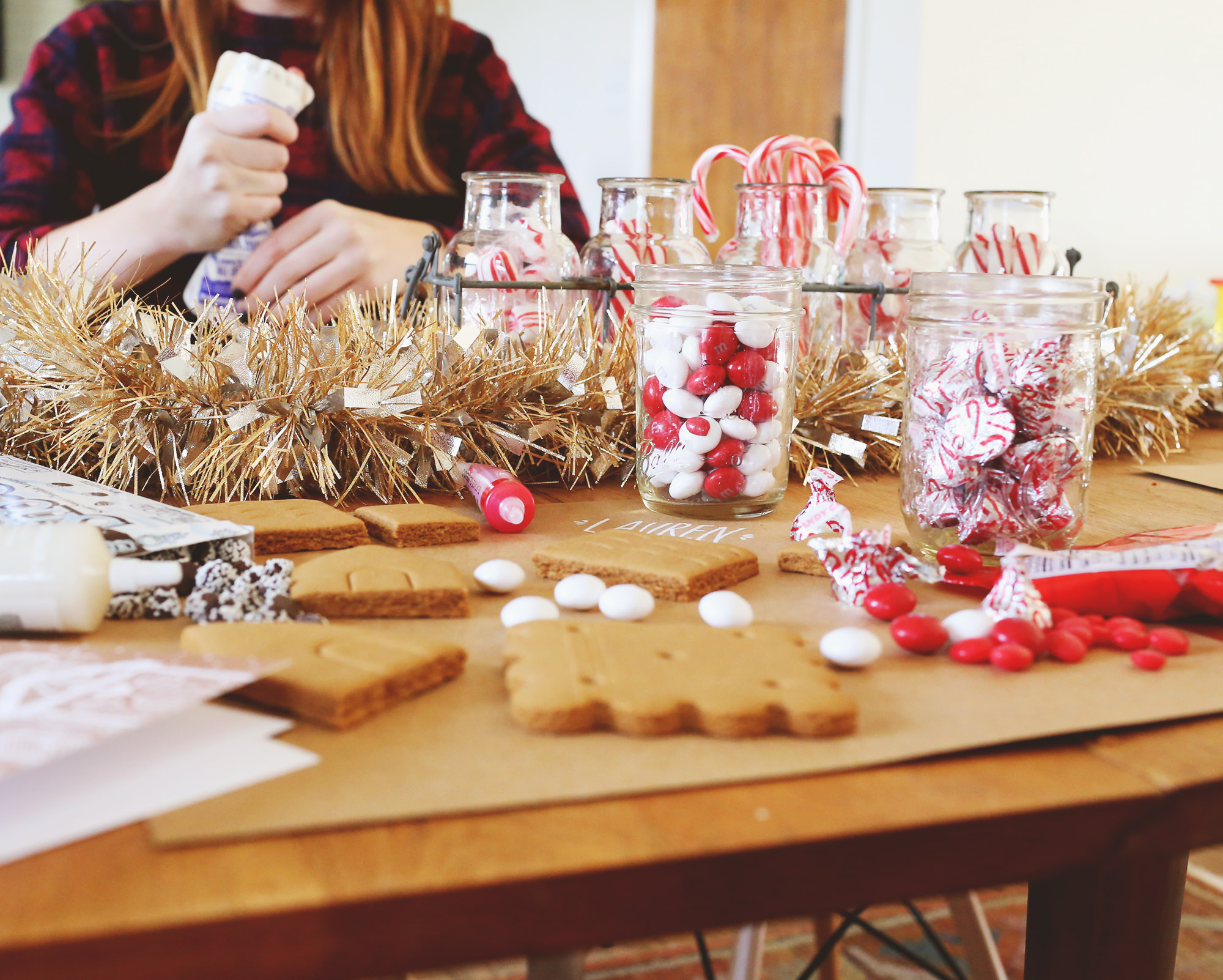 How to Host a Gingerbread House Party on Lily & Val Living