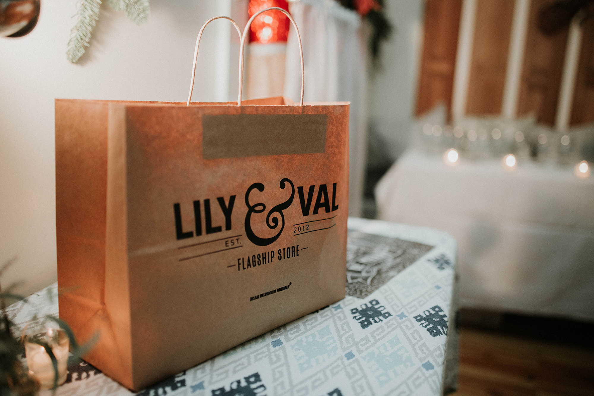 Prizes included goodies from the Lily & Val Flagship Store