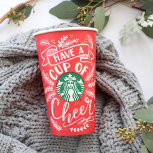 Starbucks Red Cup Art